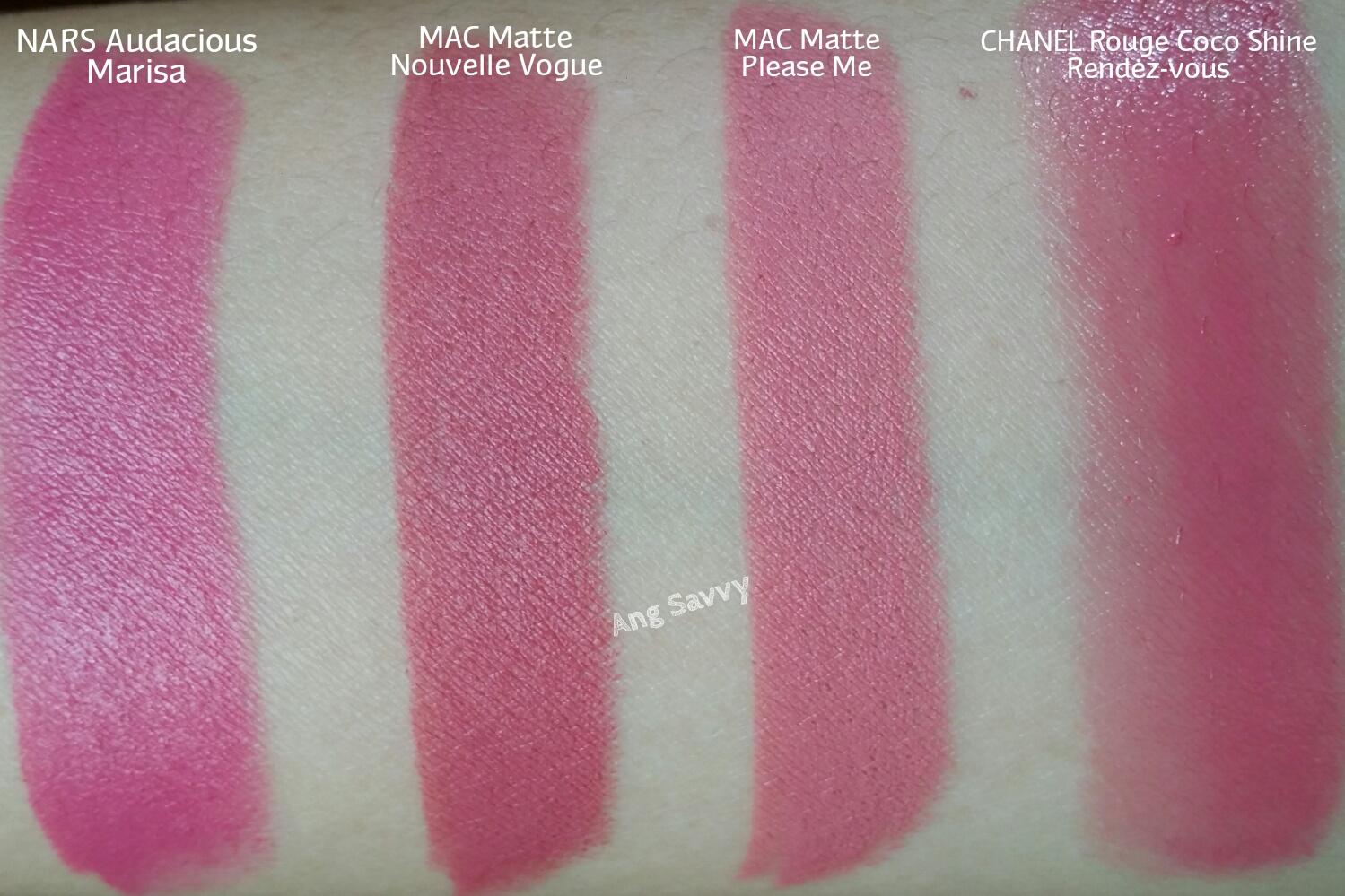 NARS Marisa Audacious Lipstick Swatch