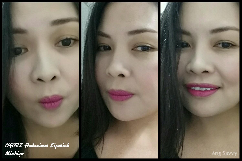 NARS Audacious Lipstick in Michiyo Swatch