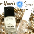New Year Sparkling Nails