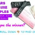 NARS November 2014 Giveaway Winner