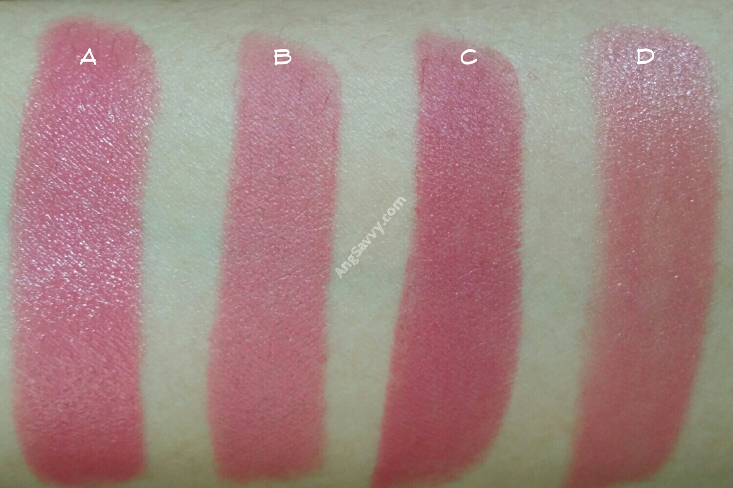 NYX Fig Round Lipstick Swatch
