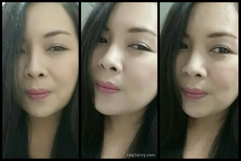 NYX Fig Round Lipstick Swatch