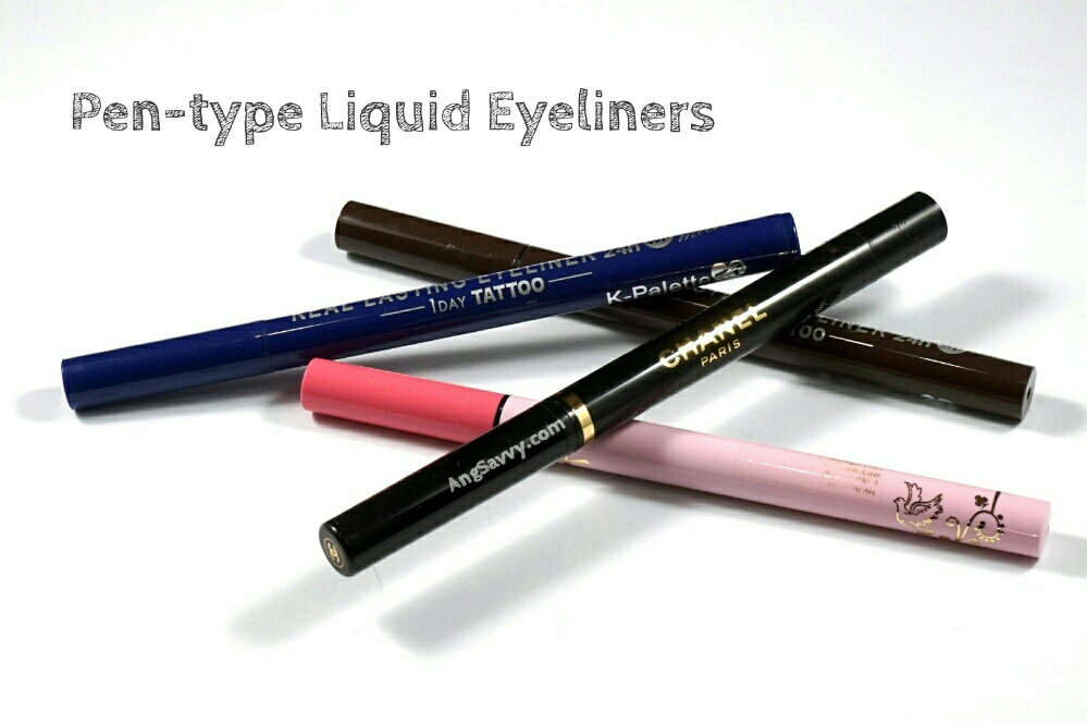 Basic Eyeliner Types Liquid Pen-type