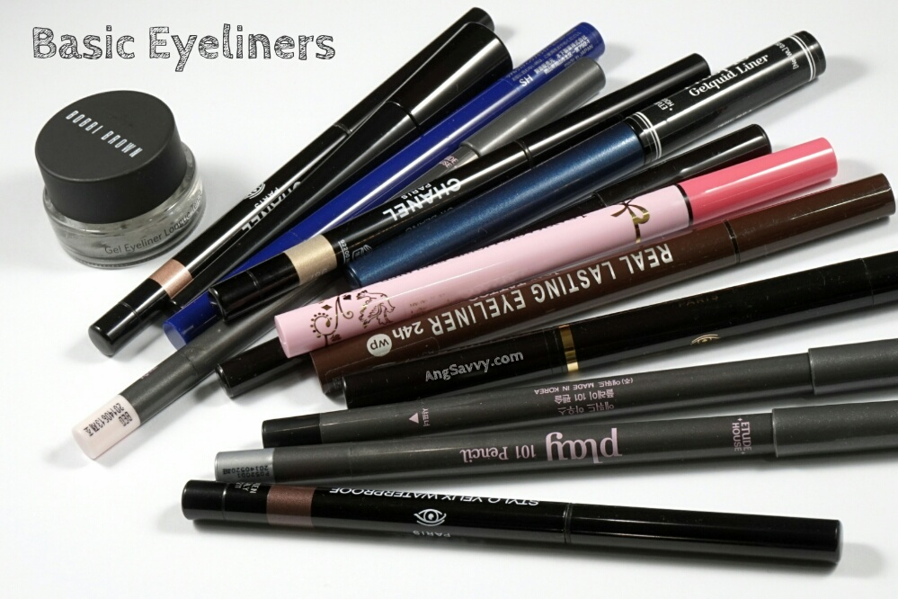 Basic Eyeliner Types