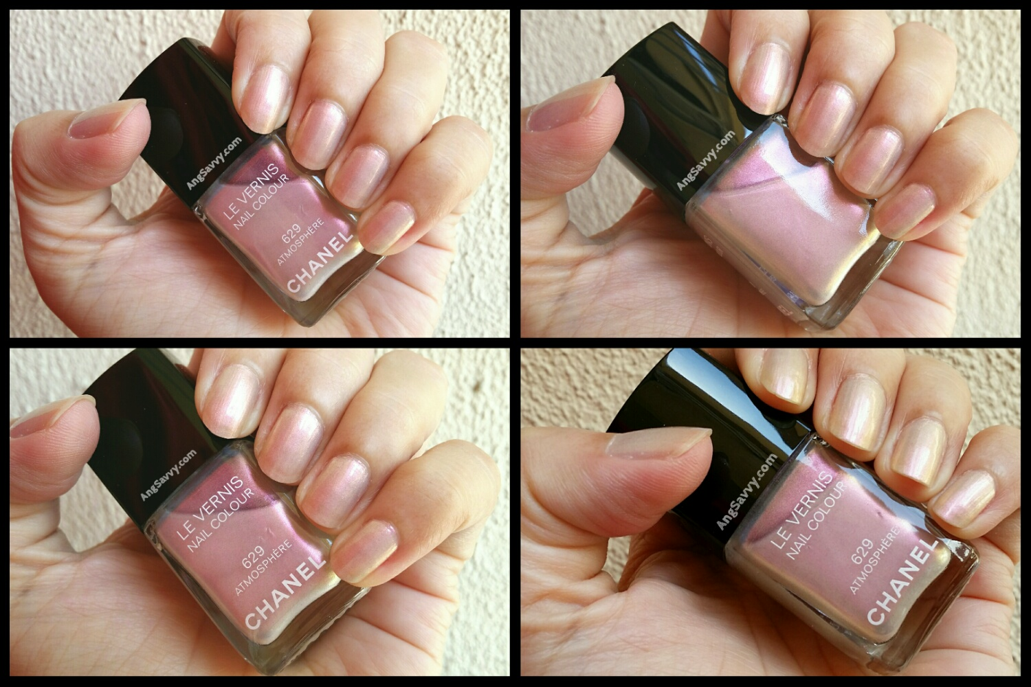 Chanel Atmosphere Nail Polish Swatch