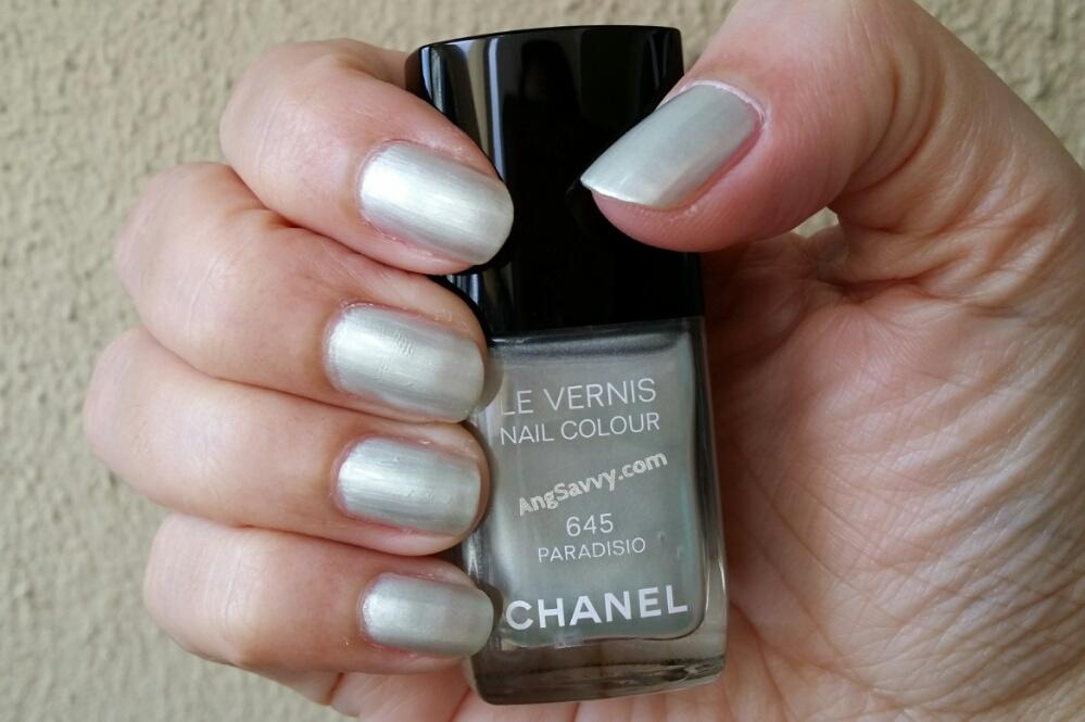 Chanel Paradisio Nail Polish Swatches
