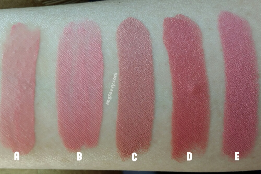 Chanel Rouge Double Intensite Darling Pink Swatches