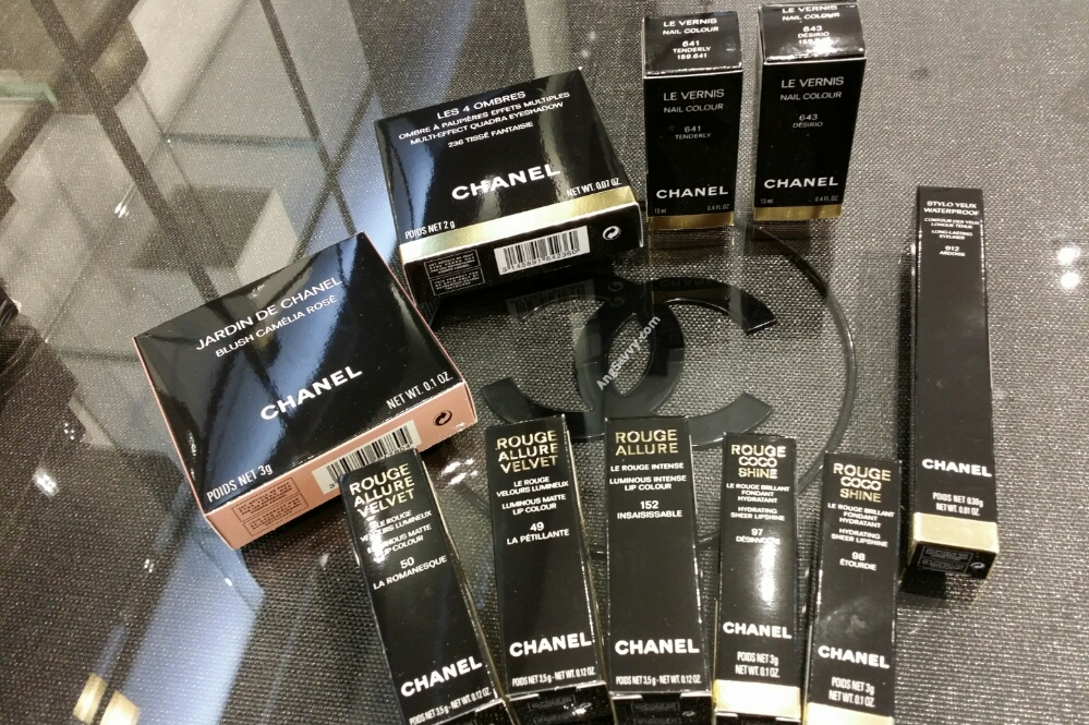 Chanel Spring 2015 Collection Makeup Haul Part 2