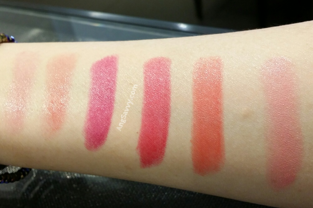 Chanel Spring 2015 Collection Makeup Haul Swatches