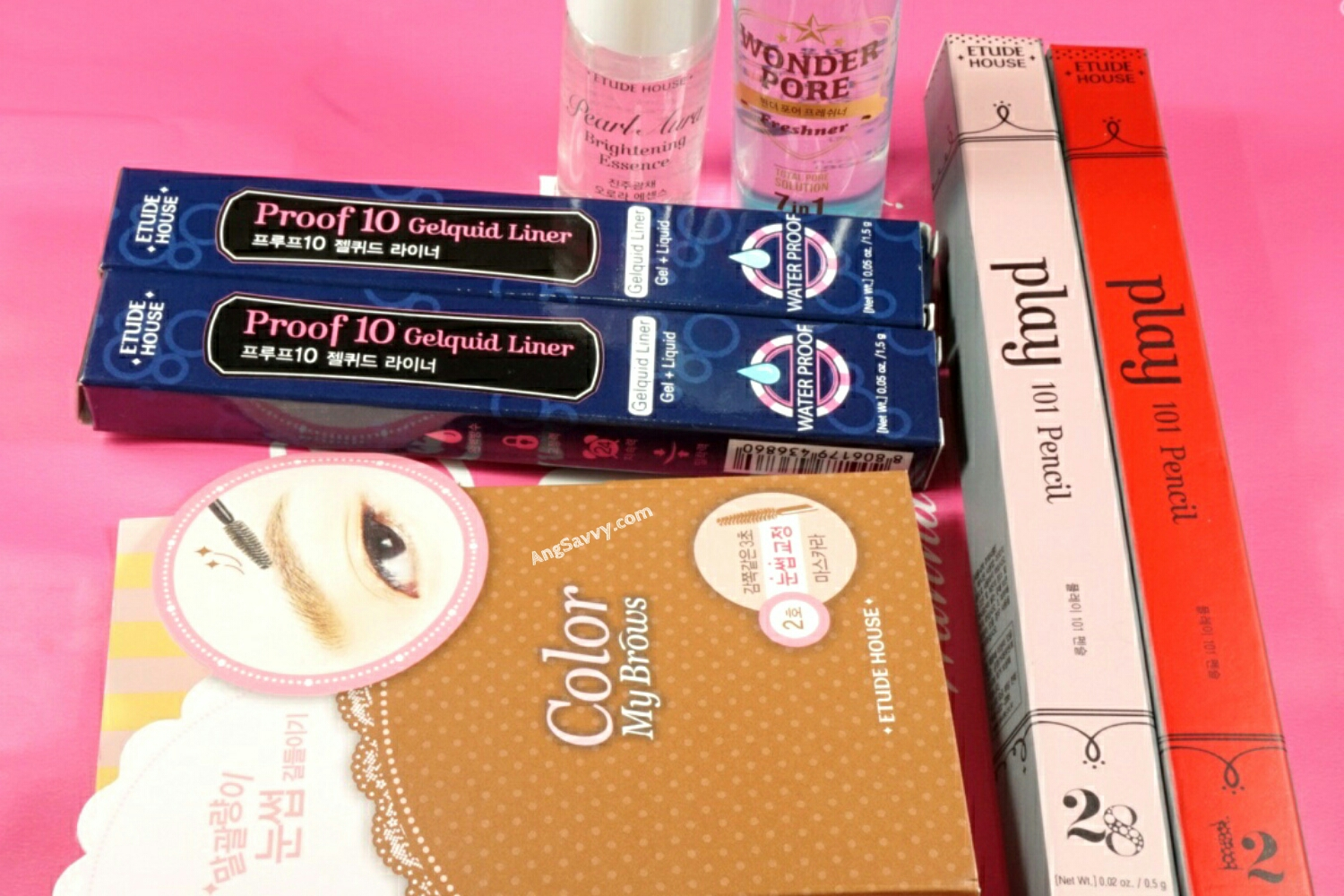 Etude House Korean Makeup Giveaway December 2014 Winner