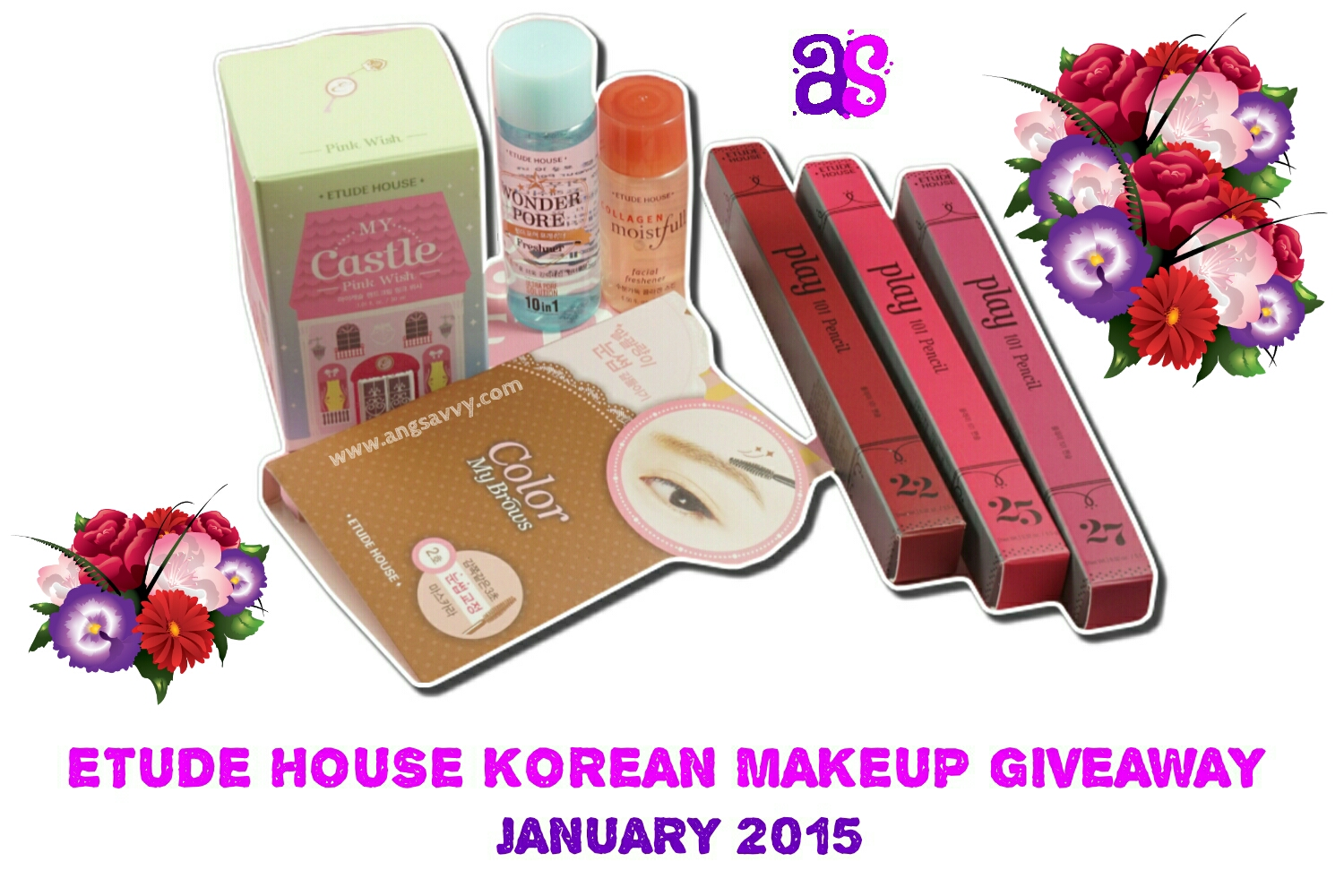 Etude House Korean Makeup International Giveaway