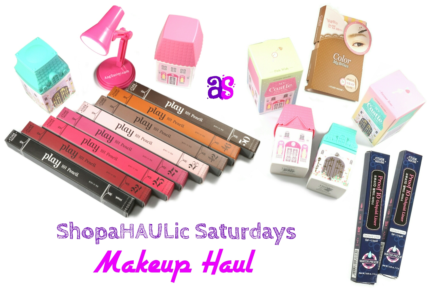 Etude House Makeup Haul