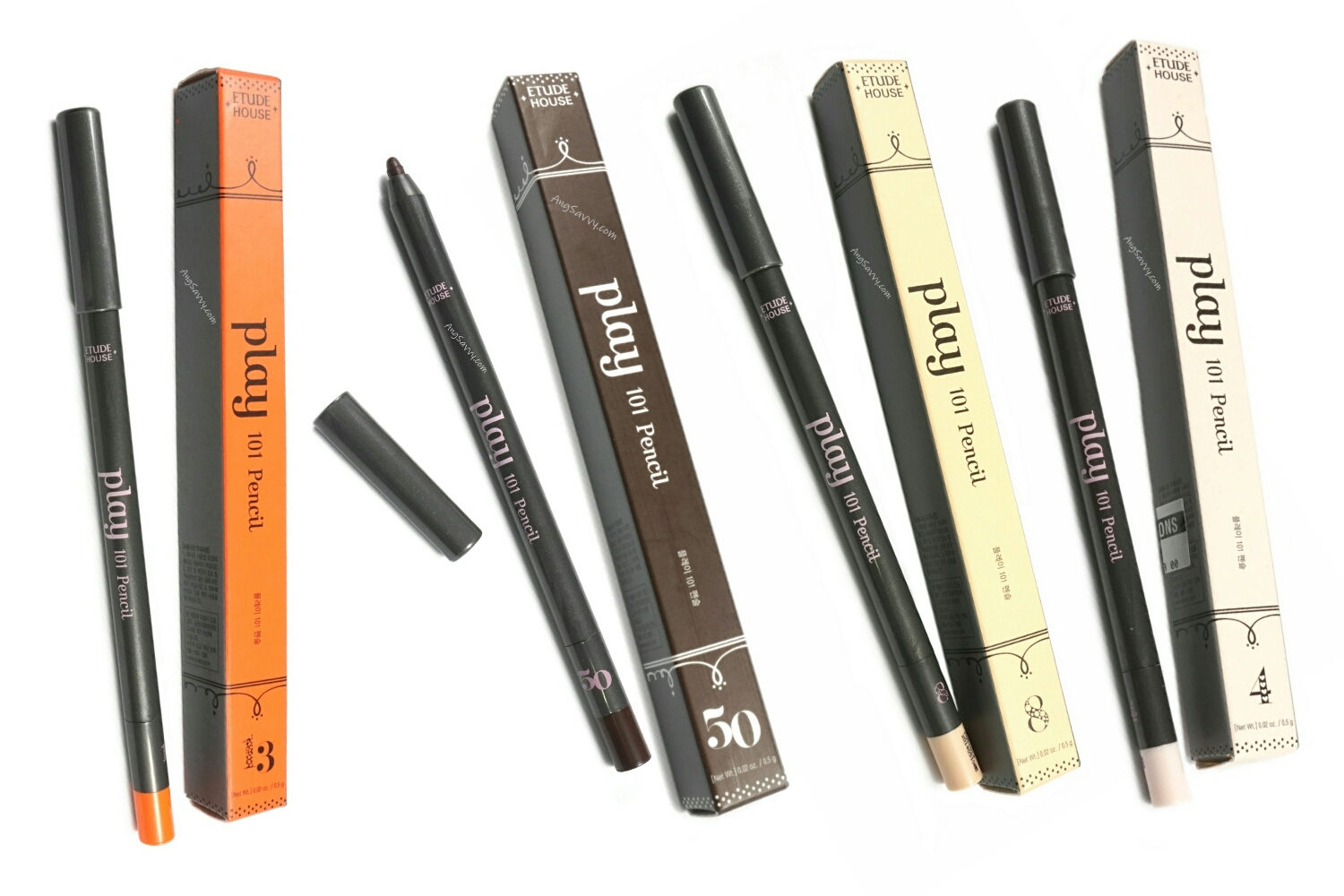 Etude House Play 101 Pencils 4, 8, 13, 50