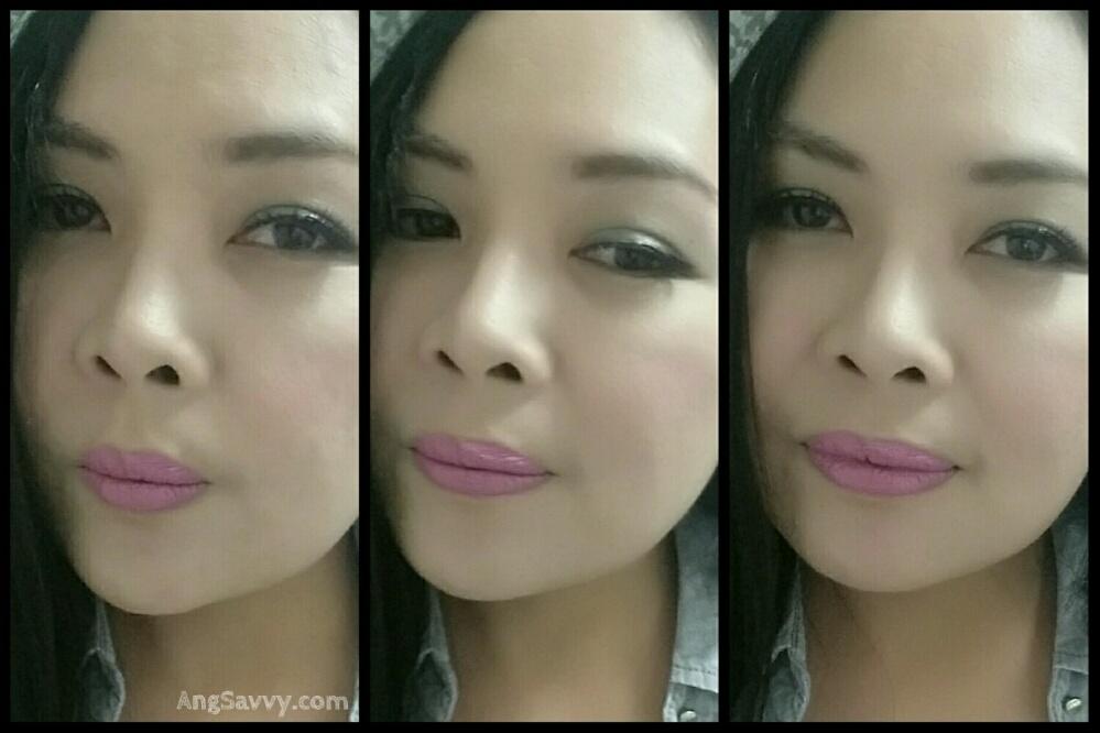 MAC Pink Nouveau Lipstick Lip Swatches