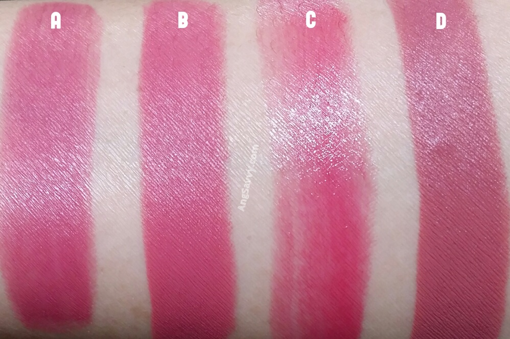 MAC Unlimited Lipstick Pro Longwear Lipcreme Swatches