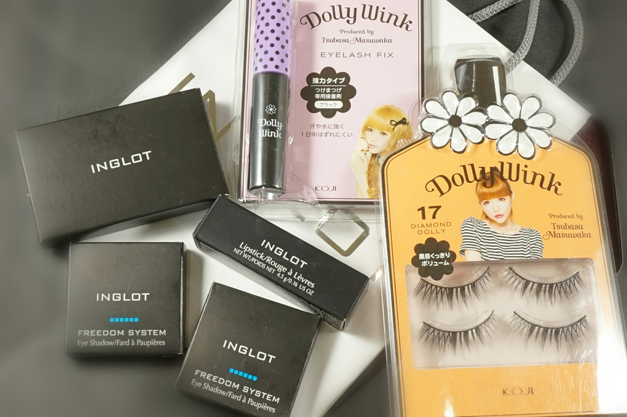 Makeup Haul Inglot Dolly Wink