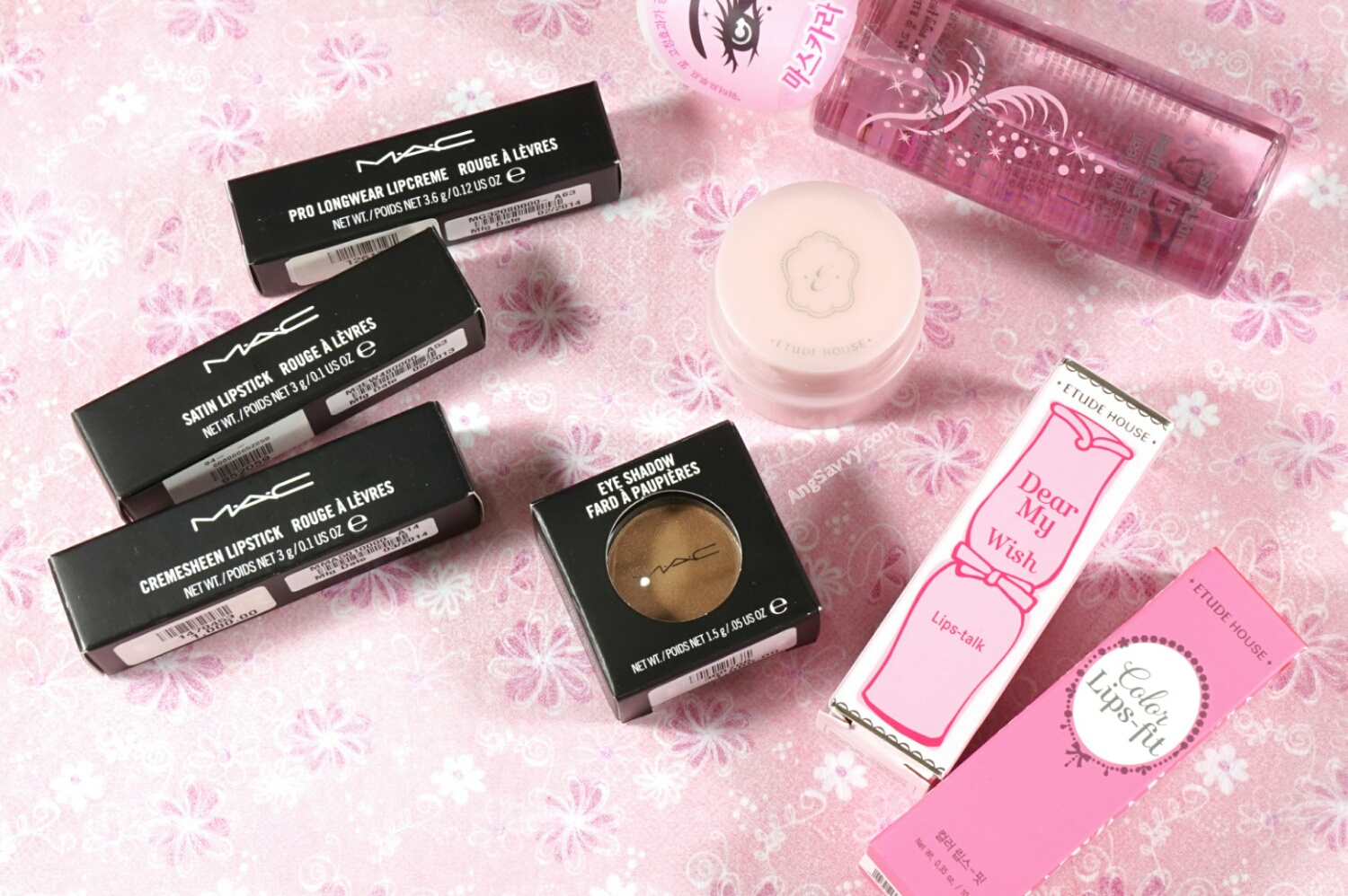 Makeup Haul MAC Etude House