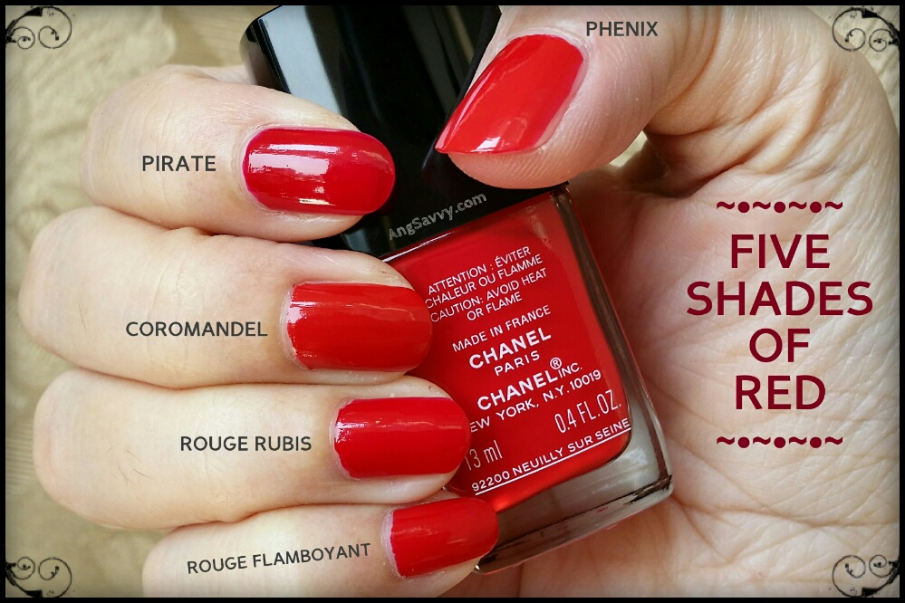 5 Best Red Nail Polishes for Valentine\'s Day – Ang Savvy