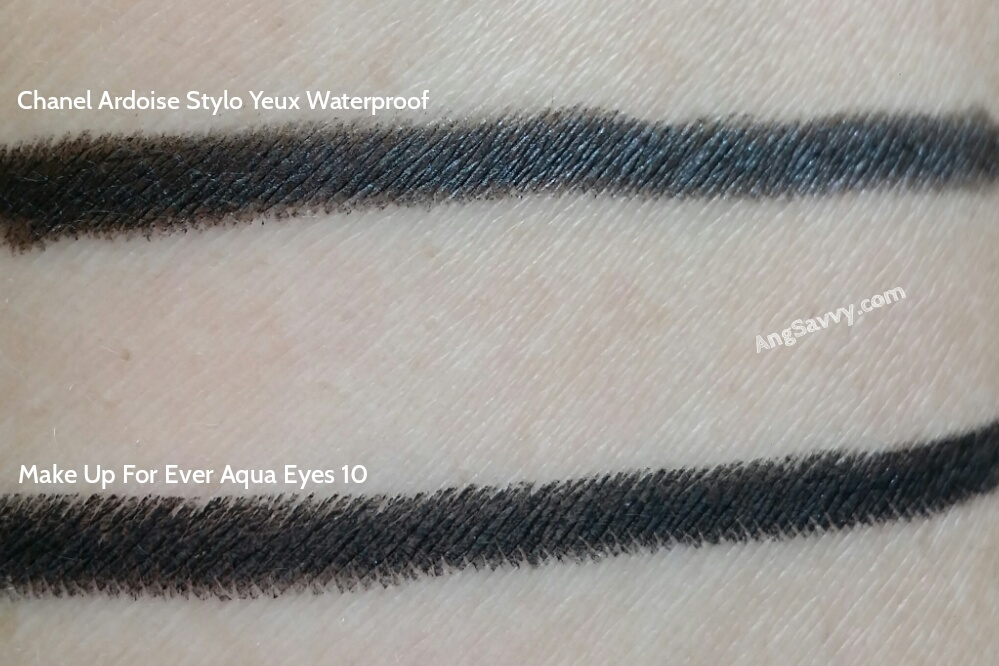 Chanel Ardoise Stylo Yeux Waterproof Long Lasting Eyeliner Swatches