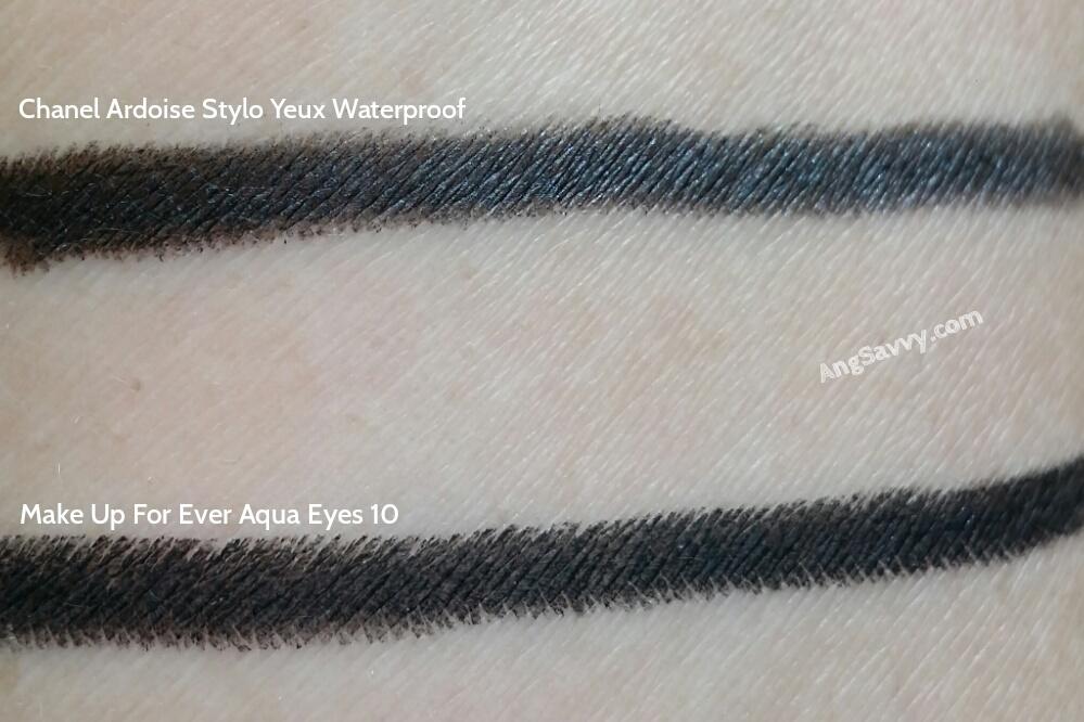 Chanel Ardoise Stylo Yeux Waterproof Long Lasting Eyeliner Swatches