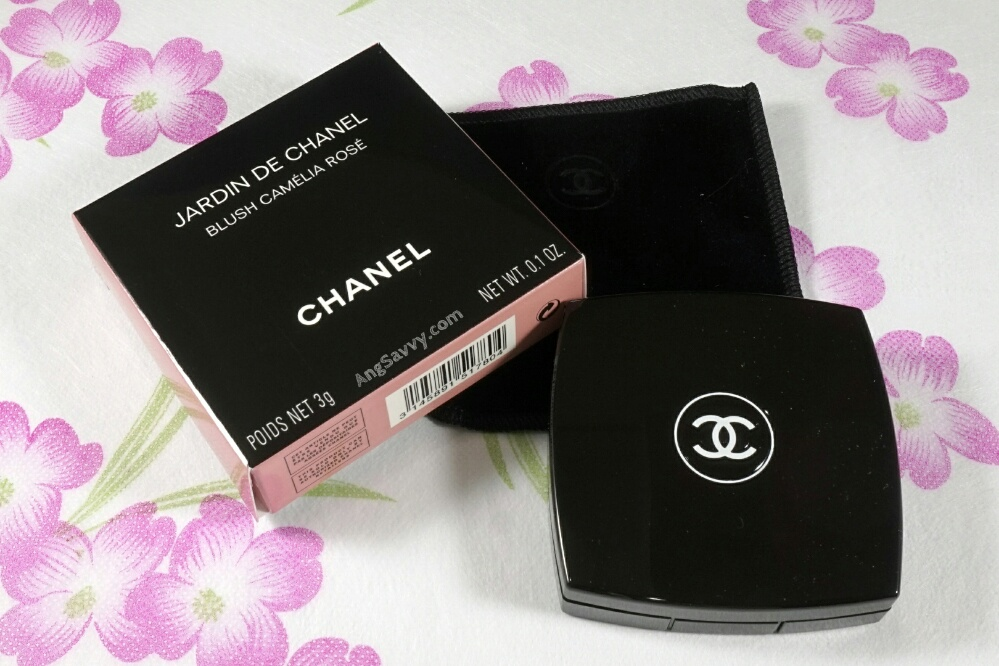 Chanel Camelia Rose Blush Jardin de Chanel