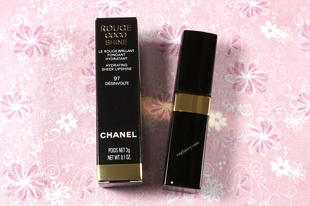 Chanel Desinvolte Rouge Coco Shine