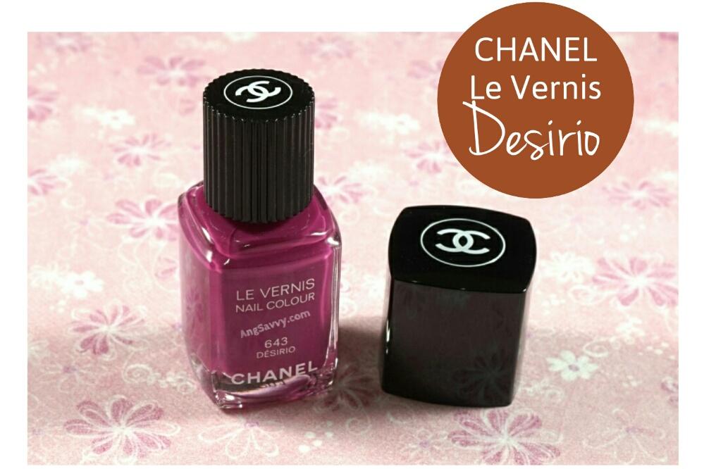 Chanel Desirio Nail Polish 643 Le Vernis