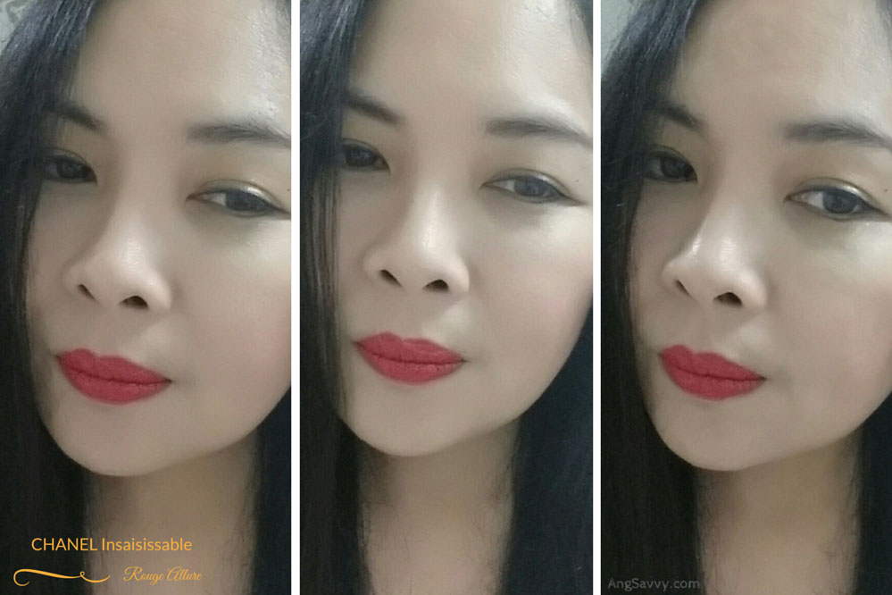 Chanel Insaisissable Rouge Allure Lip Swatches