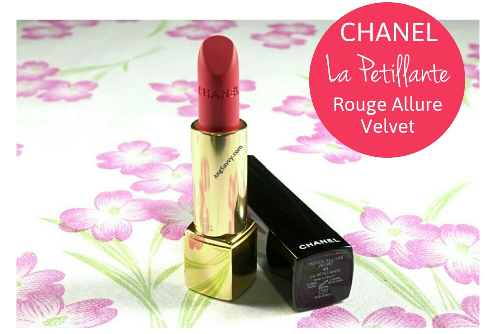 Chanel La Petillante 49 Rouge Allure Velvet