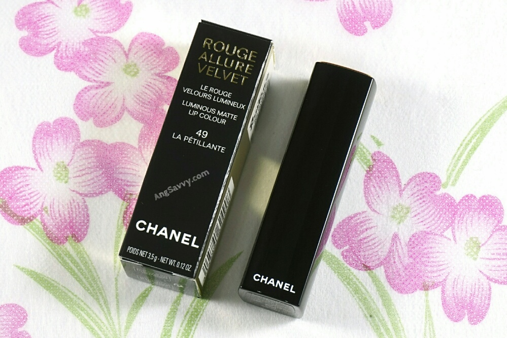 Chanel La Petillante Rouge Allure Velvet