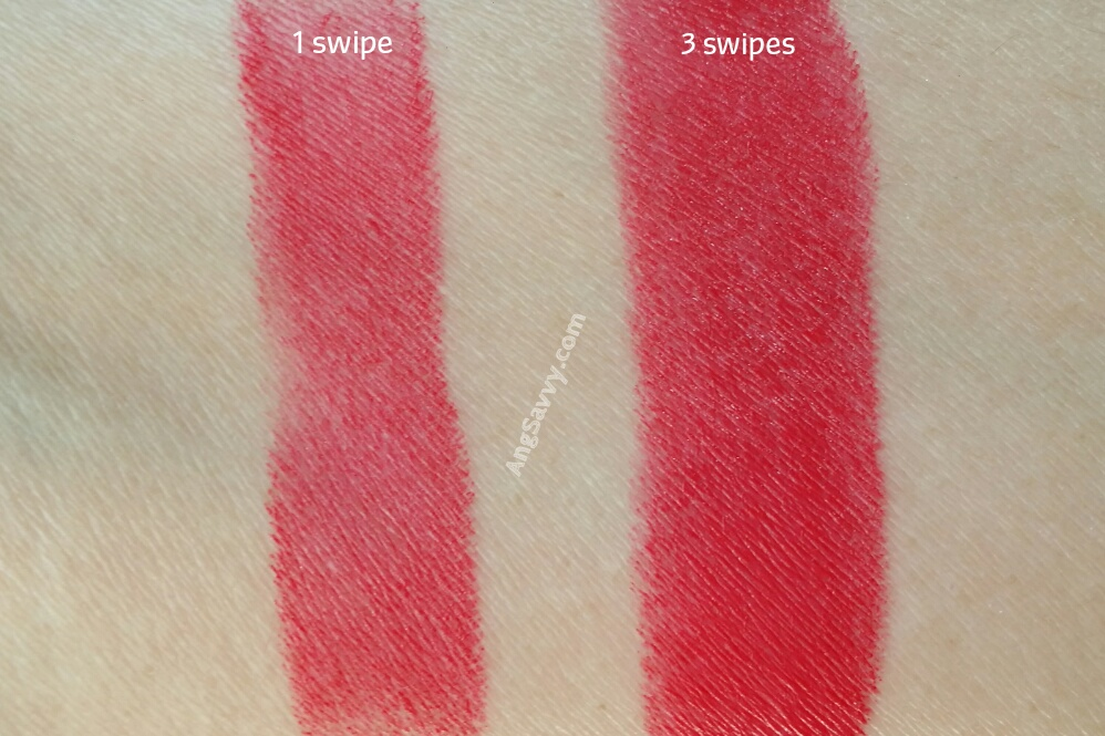 Chanel La Petillante Rouge Allure Velvet Swatches