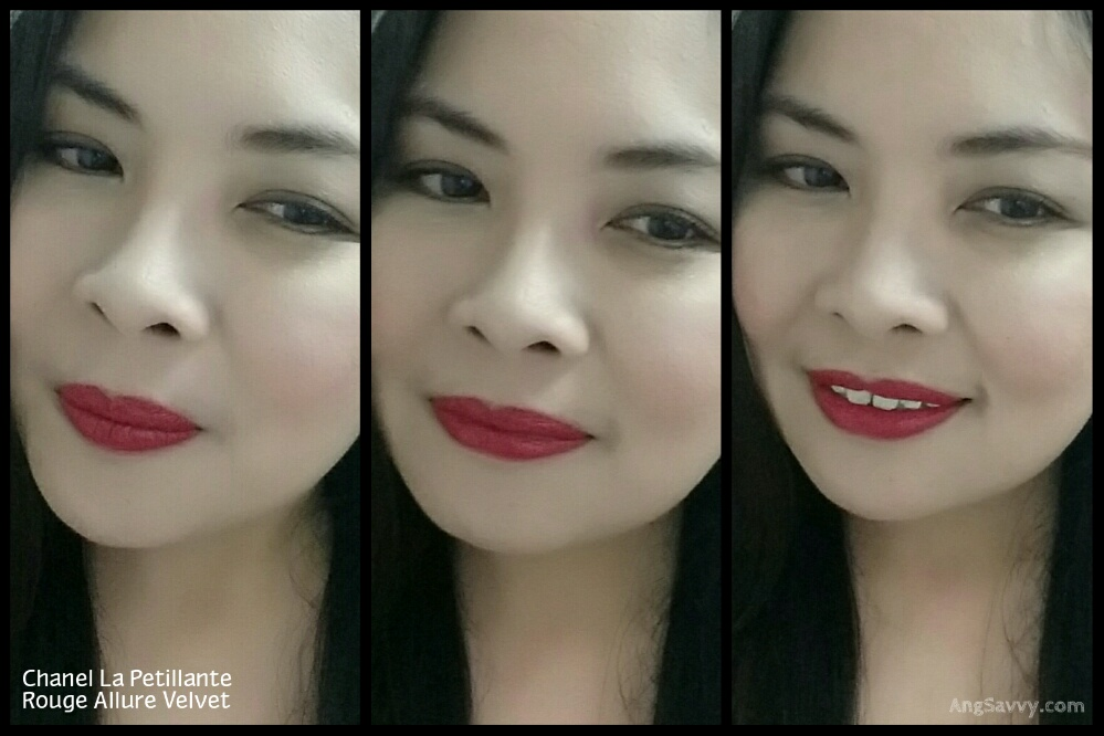 Chanel La Petillante Rouge Allure Velvet Lip Swatches