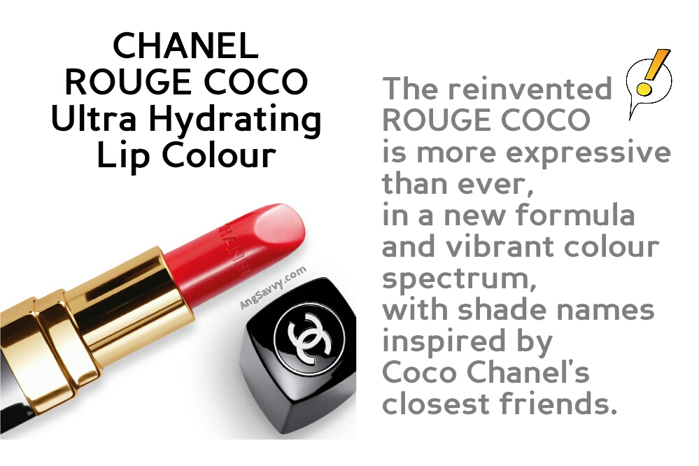 Chanel Rouge Coco Collection New Formula