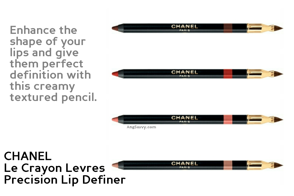 Chanel Rouge Coco Collection New Formula Le Crayon Levres