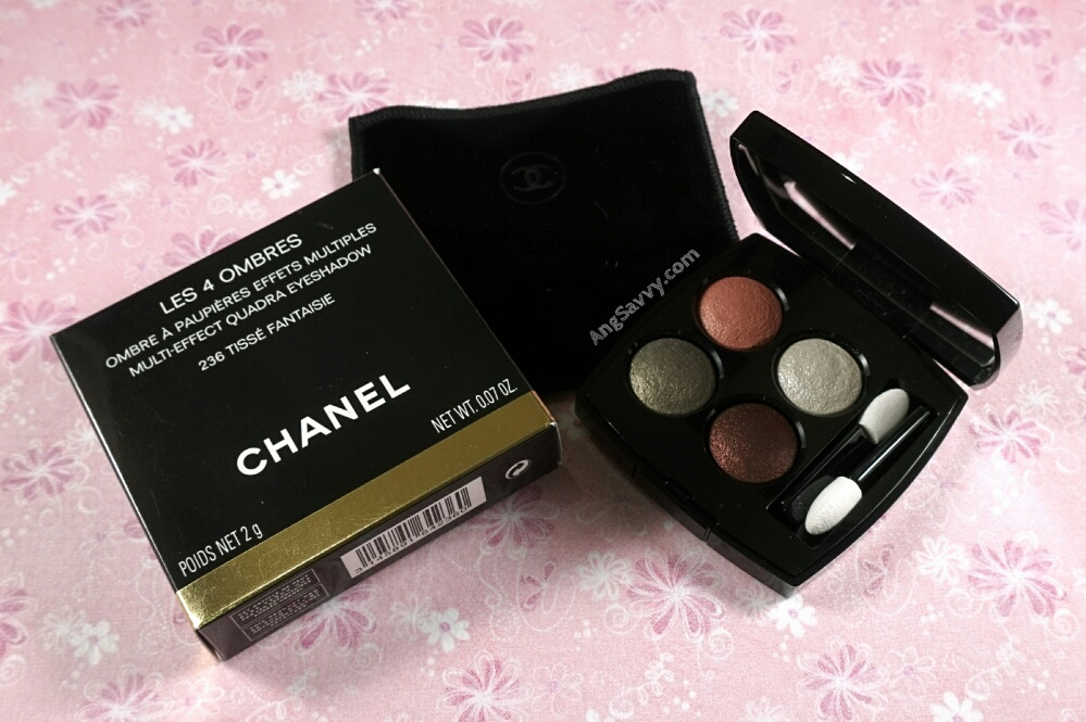 Chanel Tisse Fantaisie Eyeshadow Quad 236 Les 4 Ombres