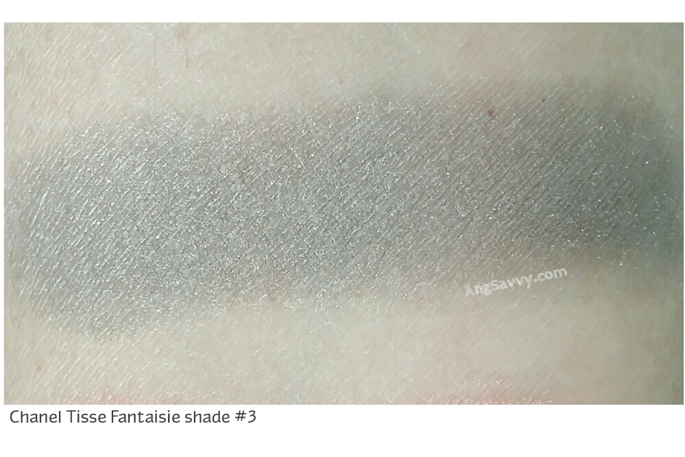Chanel Tisse Fantaisie Eyeshadow Quad 236 Les 4 Ombres Swatches