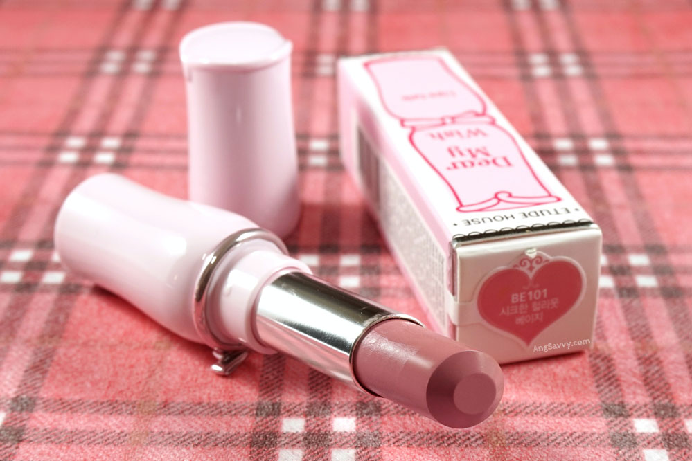Etude House Dear My Wish Lips Talk BE101 lipstick