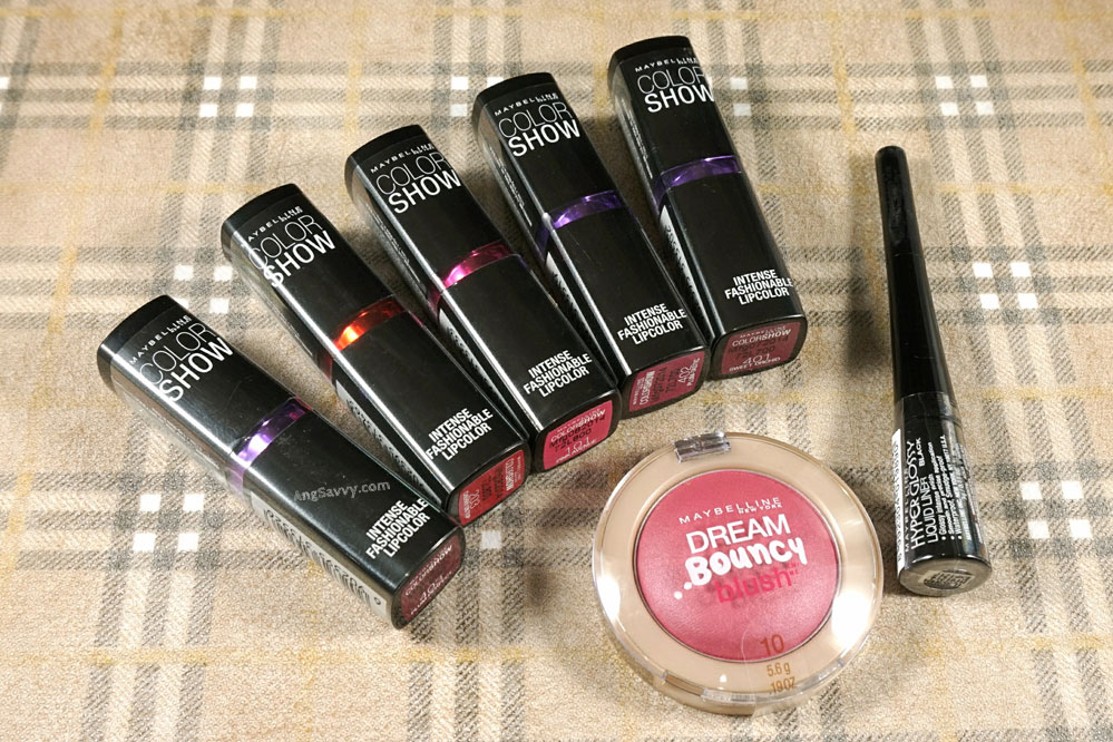 Maybelline International Giveaway February 2015