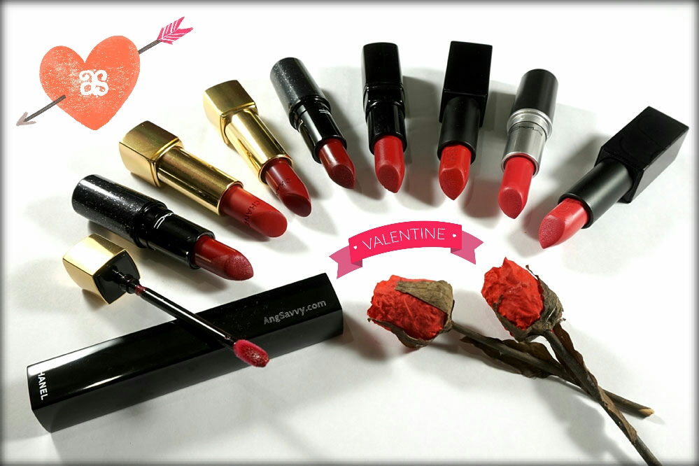 Red Lipsticks for Valentines Day