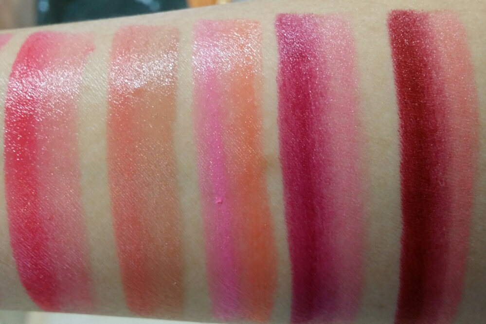 Laneige Two Tone Lip Bar Swatches