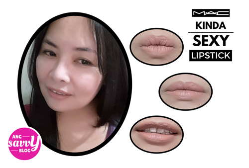 MAC Kinda Sexy Lipstick Review