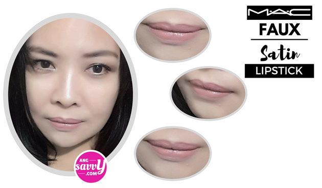 MAC Faux Lipstick Review