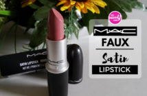 MAC Faux Lipstick Review