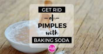 Get Rid of Pimples with Baking Soda