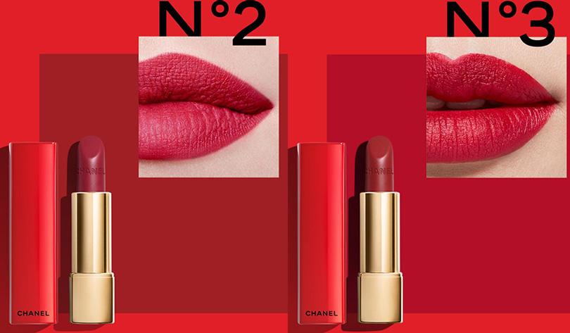 Chanel Rouge Allure Velvet No2 No3