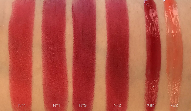 Chanel Rouge Allure Rouge Coco Gloss Swatches