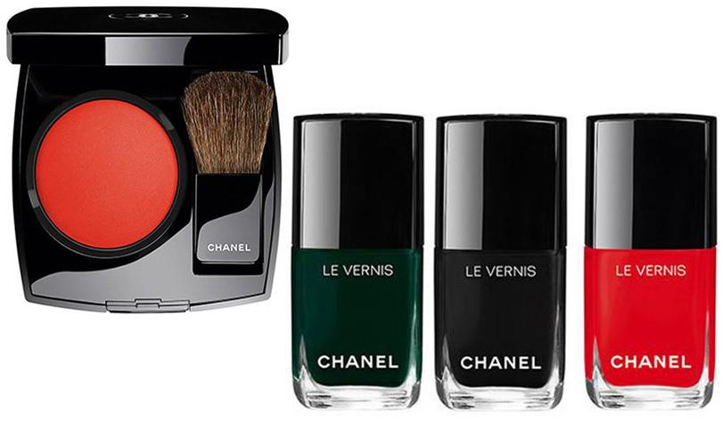 Chanel So Close blush Le Vernis Fiction Celebrity Scenario