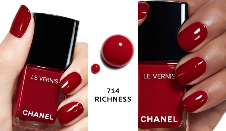 Le Vernis Richness - Holiday 2019 Makeup